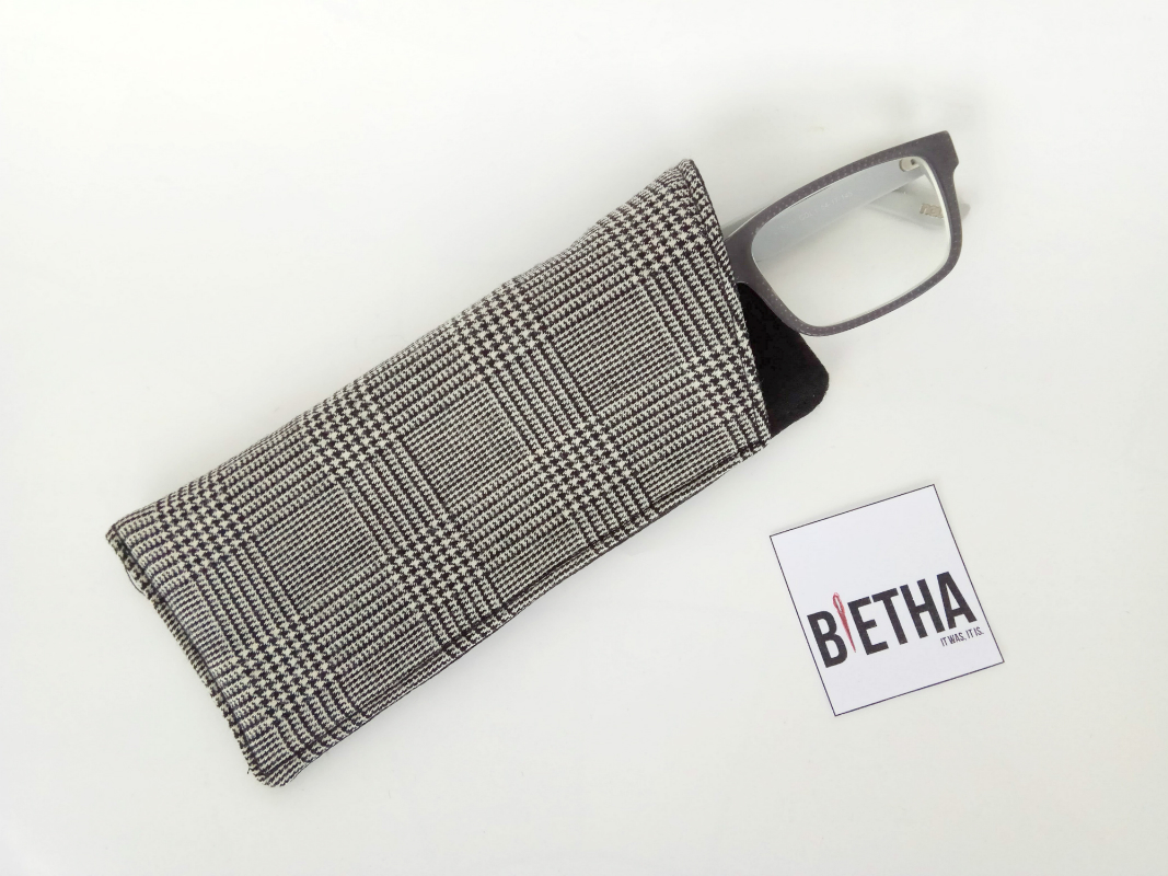 Glasses Case Sewing Pattern in 3 Sizes, Easy to follow step by step ...